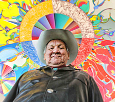 Alex Janvier, artist and Morning Star