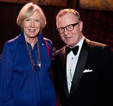 Keynote speaker Margaret MacMillan, O.C., historian and Mark O'Neill, President and CEO, Canadian Museum of History.