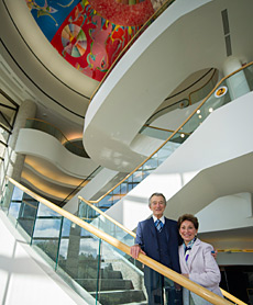 Dr. Ralph and Roslyn Halbert