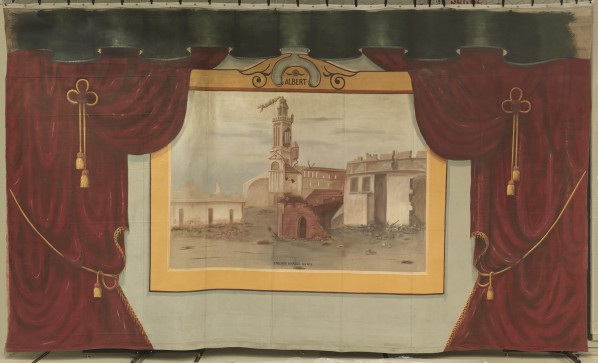 Painting of The Penhold Curtain