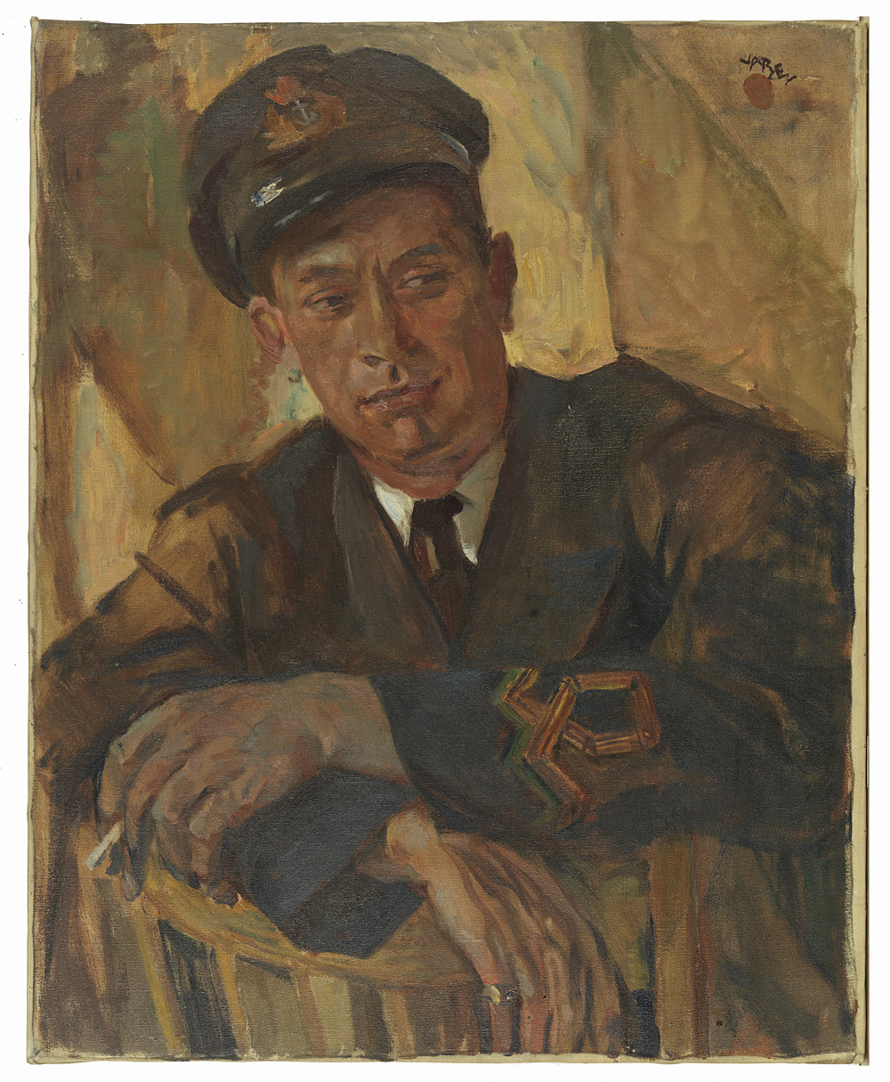 Portrait of a Naval Officer, Harry Kelman