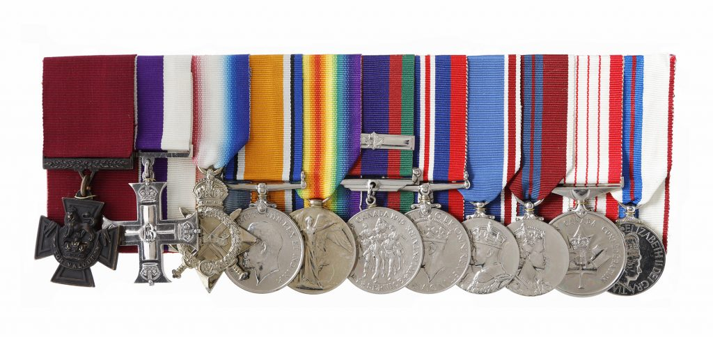 Harcus Strachan's medal set