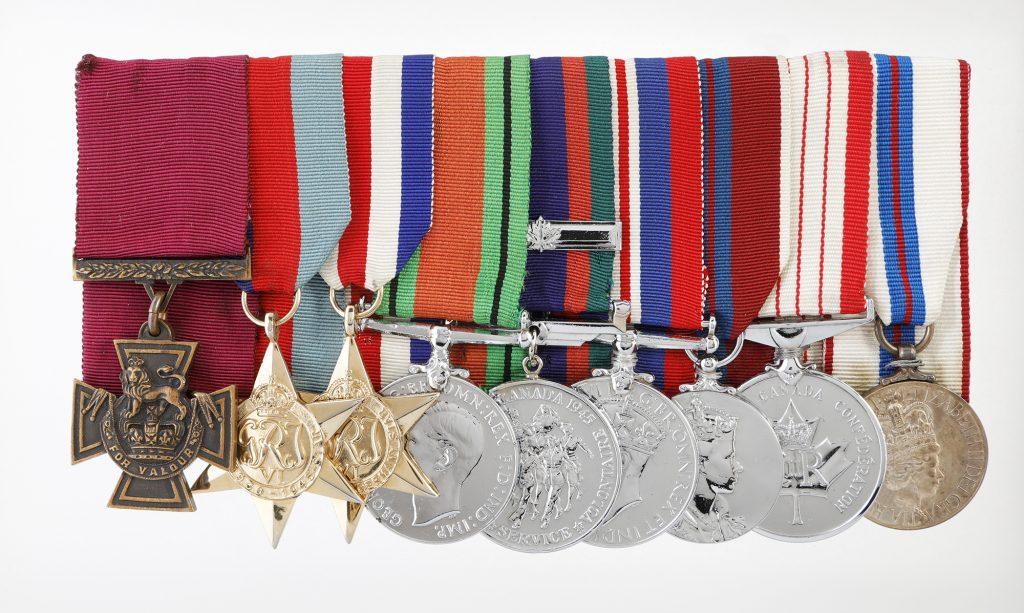Lieutenant-Colonel Currie's medal set