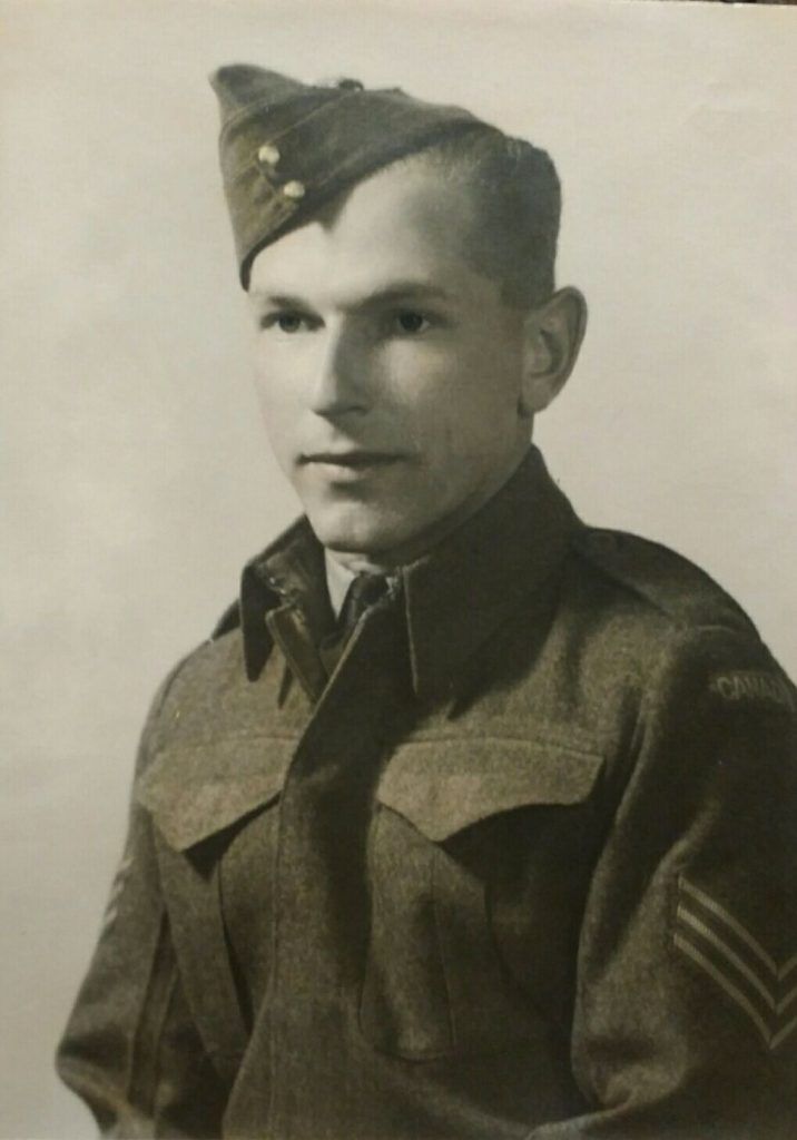 Image of David Wysynski in uniform