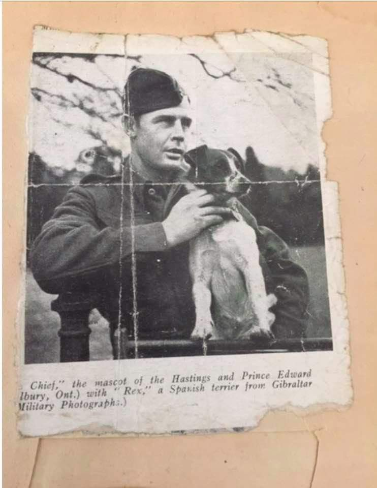 Image of Francis Sullivan in uniform