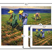Beaverbrook Collection - Land Girls Hoeing:: Collection Beaverbrook -