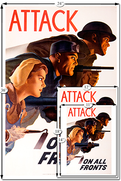 Beaverbrook Collection - Attack on all Fronts:: Collection Beaverbrook - Attack on all Fronts