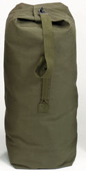 Top load canvas duffle bag olive drab:: Sac marin
