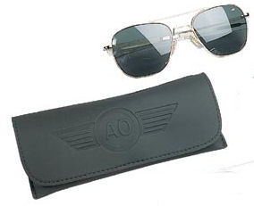 6a448a00eb6 Genuine gov t 52mm A.F. pilots polarized sunglasses by AO Eyewear (American  optics)