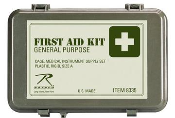 General purpose first aid kit olive drab:: Trousse de premiers soins couleur olive tendre