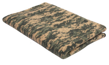 Fleece blanket  a.c.u. digital camo:: Couverture couleur camouflage digital