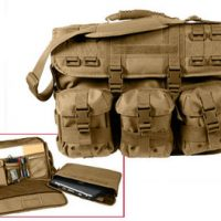 MOLLE tactical computer/briefcase coyote:: Malette ou serviette pour ordinateur portable MOLLE couleur brun
