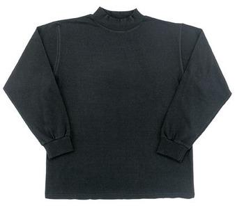 Mock turtleneck black:: Chandail