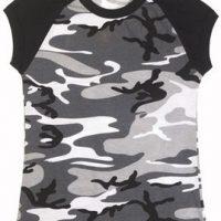 Women's city camo s/s raglan t-shirt:: T-shirt de style raglan pour femme