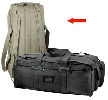 Canvas mossad duffle bag olive drab:: Sac marin couleur olive terne