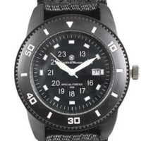 Smith & Wesson commando watch black:: Montre Smith & Wesson commando noire