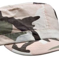 Women adjustable vintage fatigue cap subdued pink camo:: Casquette r