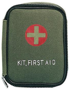 Military zipper first aid kit:: Trousse de premiers soins militaire