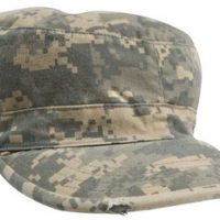 Vintage fatigue cap a.c.u digital camo:: Casquette couleur camouflage digital d