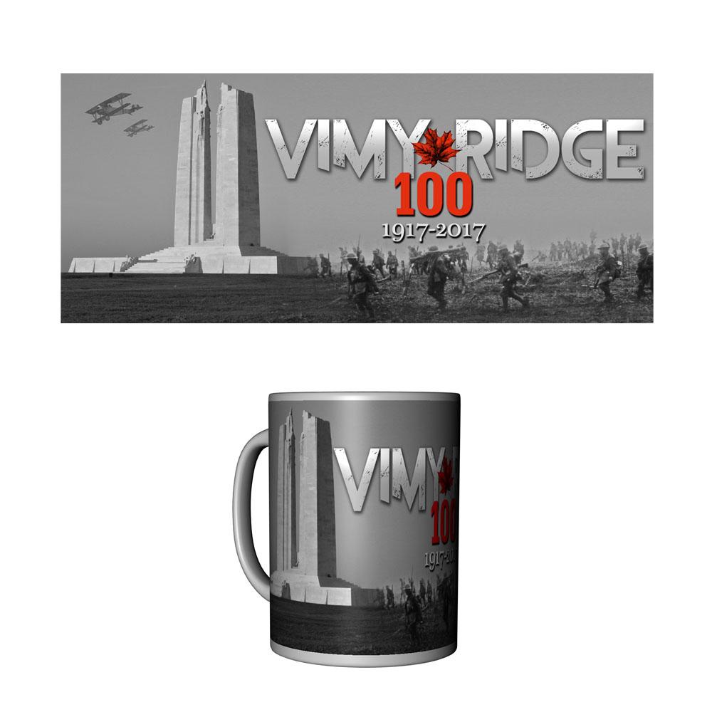 Vimy Ridge 100th Anniversary Commemorative Ceramic Mug