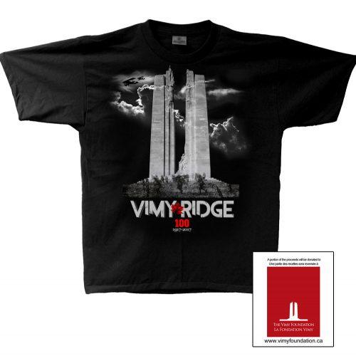 Vimy Ridge Battle 100th Anniversary T-Shirt