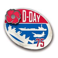 D-Day 75th Anniversary Lapel Pin