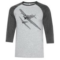 Spitfire Sublimated Baseball Shirt