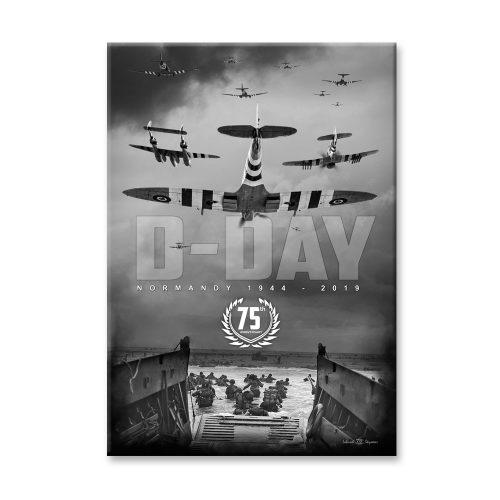 D-Day Beach Landing 75th Anniversary Canvas Print