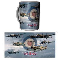 VE Day Mug with planes