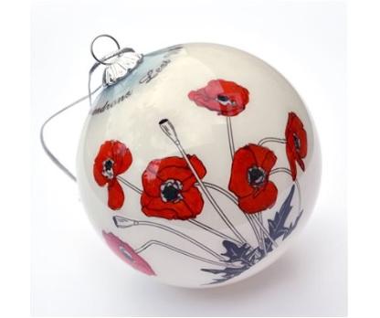 Poppy Ornament