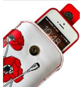 Poppy Cell Phone Case