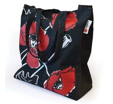 Poppy Shopping Tote Bag