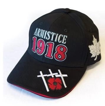 Armistice 1918 Black Baseball Cap