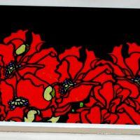 Large Poppy Trivet