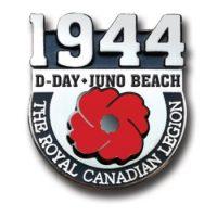 D-Day Juno Beach Lapel Pin