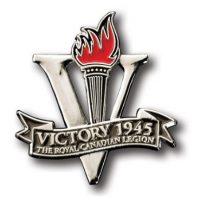 Victory 1945 Lapel Pin
