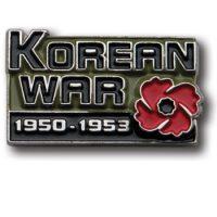 Korean War Lapel Pin