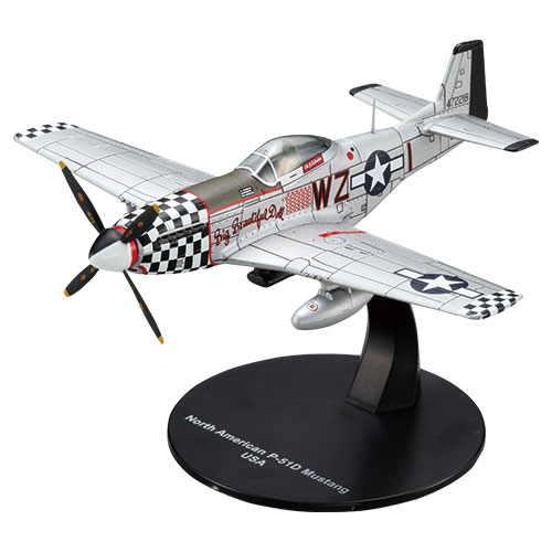 North American P-51D Mustang Scale 1/72