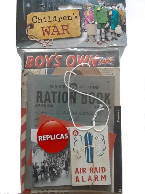 Children's War Memorabilia Replicas Pack