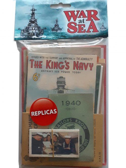 War at Sea Memorabilia Replicas Pack