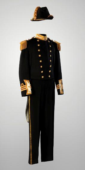 Full-dress Uniform, Commander Frank Llewellyn Houghton