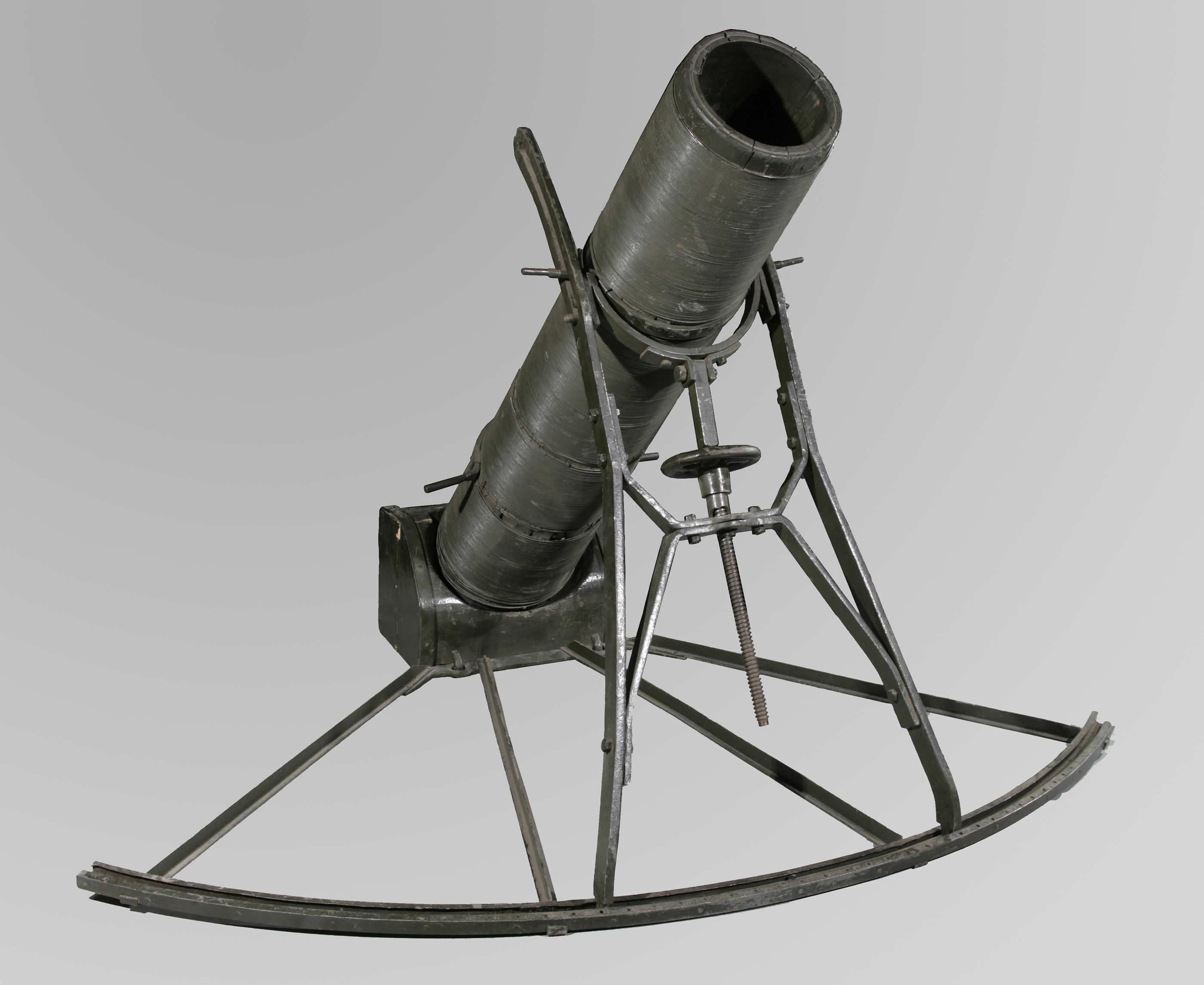 German 240 millimetre Albrecht Trench Mortar