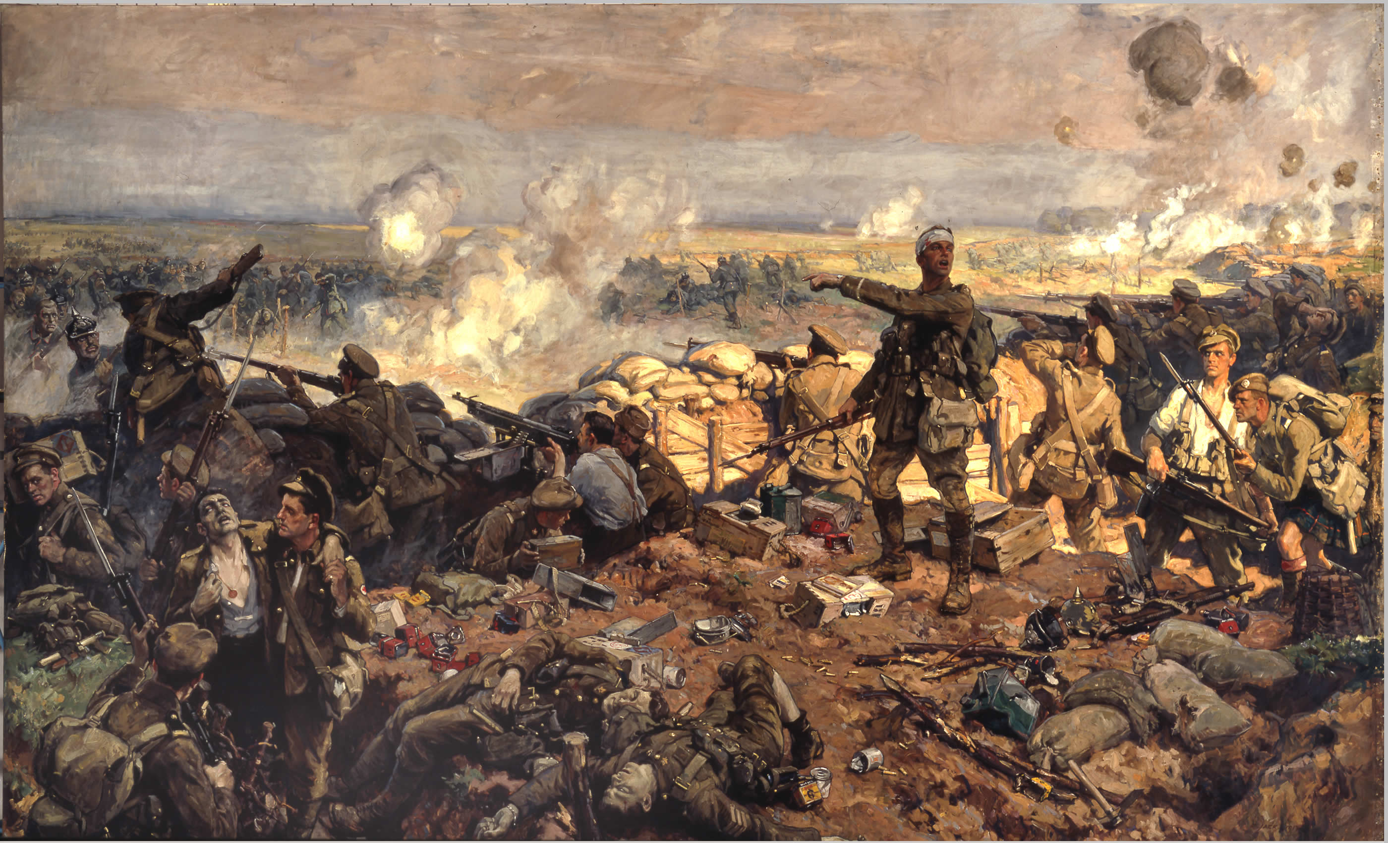 The Second Battle of Ypres 1915 (image provided by wikipedia)