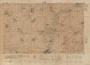 Map of Beaumont Hamel