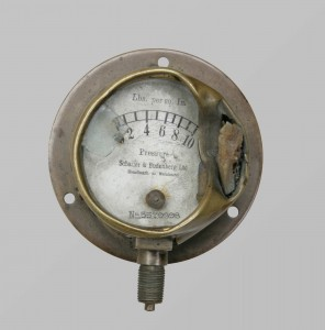 Fuel Gauge of Bristol Fighter