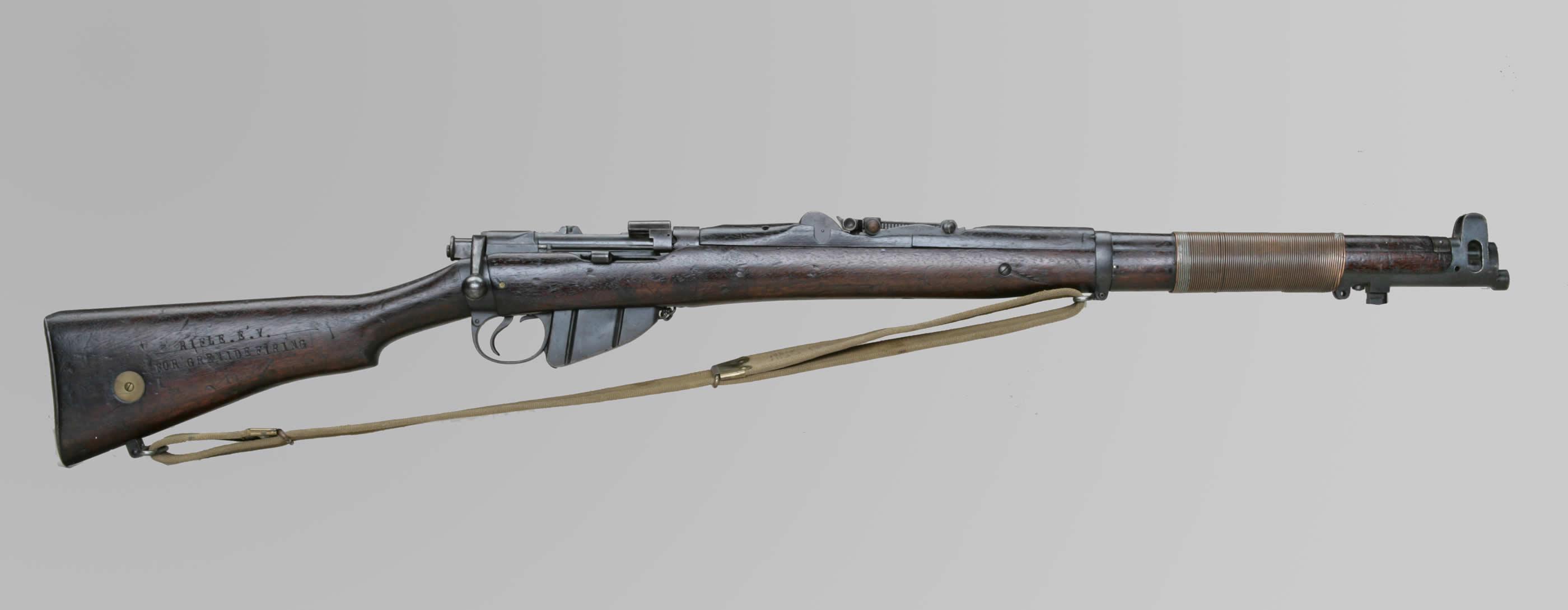 Wire Bound Lee-Enfield Rifle