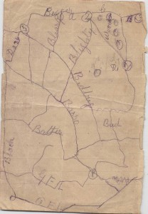 Vimy Trench Map
