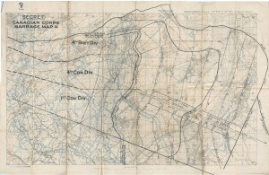 Artillery Barrage Map