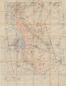 Vimy-Roclincourt Map