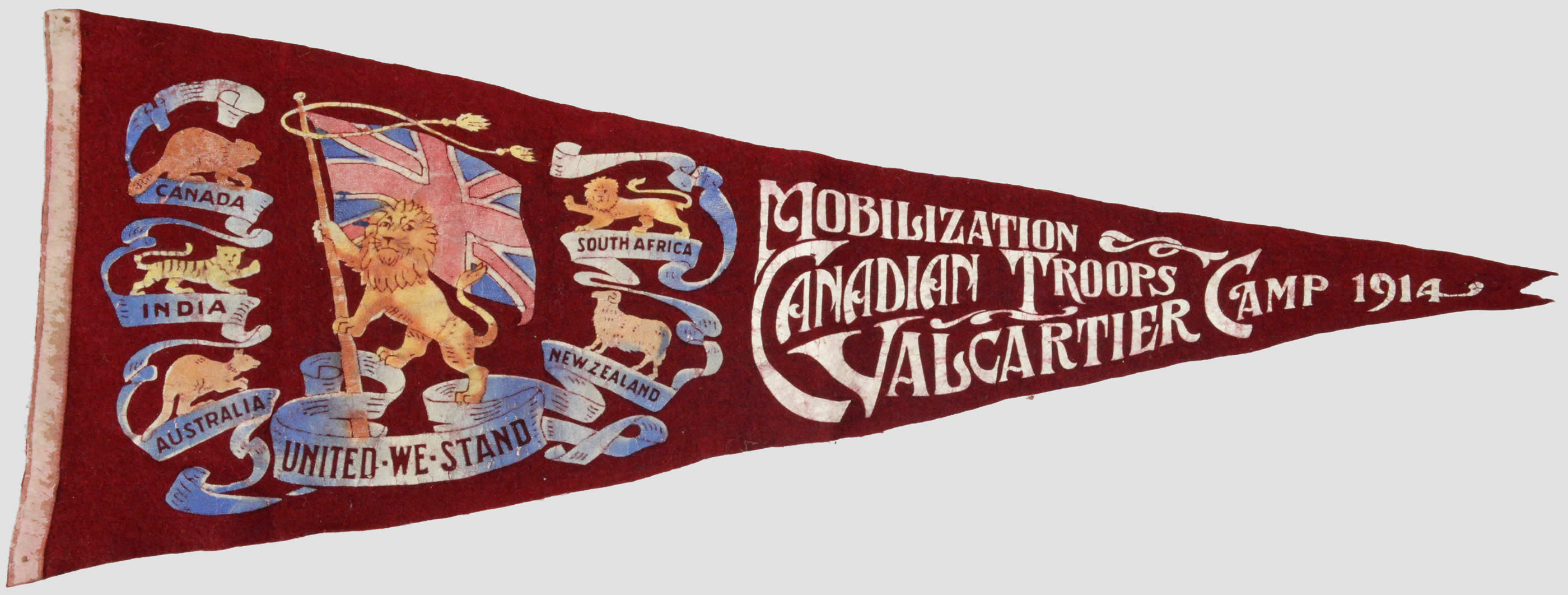 Valcartier Military Pennant